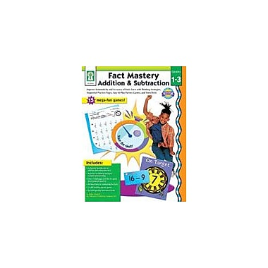 Carson-Dellosa Publishing Fact Mastery: Addition And Subtraction Workbook By Seberg, K., Grade 1 - Grade 3 [eBook]