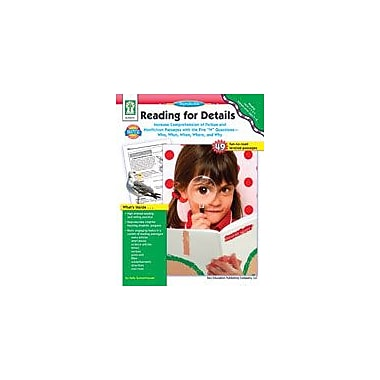 Carson-Dellosa Publishing Reading For Details Workbook By Gunzenhauser, K., Grade 1 - Grade 5 [eBook]
