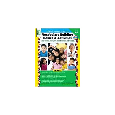 Carson-Dellosa Publishing ELL: Vocabulary Building Games And Activities Workbook By Seberg, K., Preschool - Grade 3 [eBook]