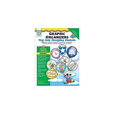 Carson-Dellosa Publishing Graphic Organizers That Help Struggling Students Workbook, Kindergarten - Grade 2 [eBook]