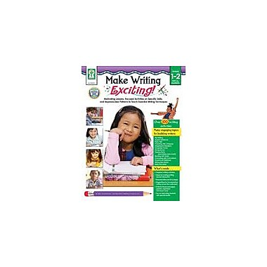 Carson-Dellosa Publishing Make Writing Exciting! Workbook By Presnall, Grade 1 - Grade 2 [eBook]