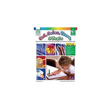 Carson-Dellosa Publishing Cut, Color, Trace, And Paste Workbook By Flora, S., Preschool - Grade 3 [eBook]
