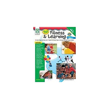 Carson-Dellosa Publishing Fun, Fitness, And Learning Workbook By Presnall, Preschool - Kindergarten [eBook]