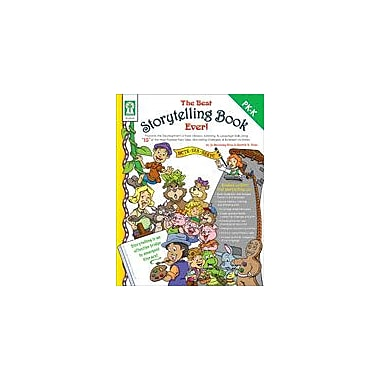 Carson-Dellosa Publishing The Best Storytelling Book Ever! Workbook By Flora, Sherrill B., Preschool - Kindergarten [eBook]