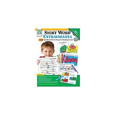 Carson-Dellosa Publishing Sight Word Extravaganza! Workbook By Maiden, Sabena, Preschool - Grade 1 [eBook]