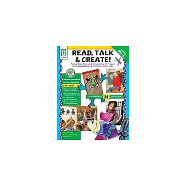 Carson-Dellosa Publishing Read, Talk And Create Workbook By Hill, Pamela K., Preschool - Kindergarten [eBook]