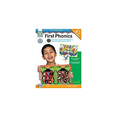 Carson-Dellosa Publishing Color Photo Games: First Phonics Workbook By Hill, Pamela K., Kindergarten - Grade 1 [eBook]