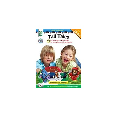 Carson-Dellosa Publishing Partner Read-Alouds: Tall Tales Workbook By Pressnall, Debra, Grade 2 - Grade 3 [eBook]