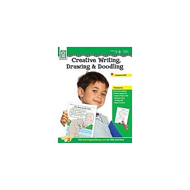 Carson-Dellosa Publishing Creative Writing, Drawing, And Doodling Workbook By Anderson, Julie, Grade 1 - Grade 3 [eBook]