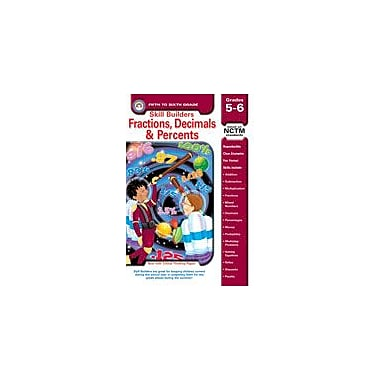 Carson-Dellosa Publishing Fractions, Decimals, And Percents Workbook By Arnold, Clareen, Grade 5 - Grade 6 [eBook]