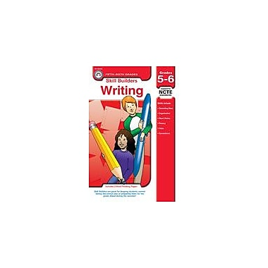 Carson-Dellosa Publishing Skill Builders Writing, Grades 5-6 Workbook By Aten, Jerry, Grade 5 - Grade 6 [eBook]