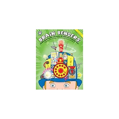 Carson-Dellosa Publishing Brain Benders, Grades 6-8 Workbook, Grade 6 - Grade 8 [eBook]