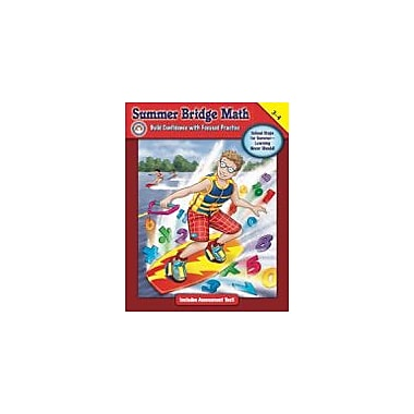 Carson-Dellosa Publishing Summer Bridge Math, Grades 3 - 4 Workbook By Summer Bridge Activities, Grade 3 - Grade 4 [eBook]