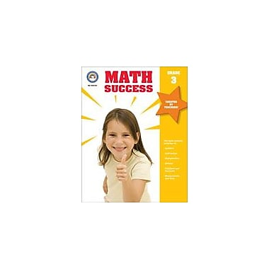 Carson-Dellosa Publishing Math Success, Grade 3 Workbook [eBook]
