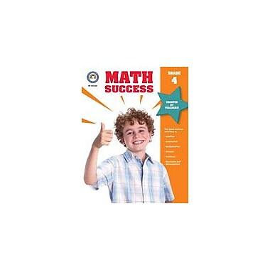 Carson-Dellosa Publishing Math Success, Grade 4 Workbook [eBook]
