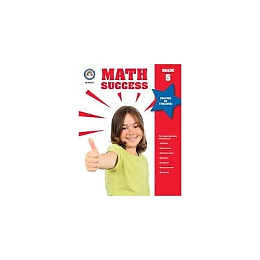 Carson-Dellosa Publishing Math Success, Grade 5 Workbook [eBook]