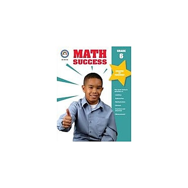 Carson-Dellosa Publishing Math Success, Grade 6 Workbook [eBook]