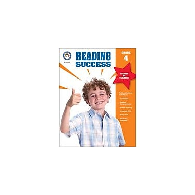 Carson-Dellosa Publishing Reading Success, Grade 4 Workbook [eBook]