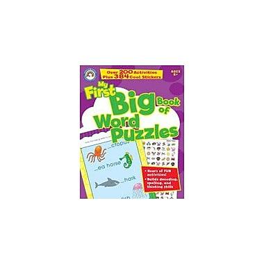 Carson-Dellosa Publishing Big Book Of Word Puzzles Workbook By Small World, Grade 1 - Grade 3 [eBook]