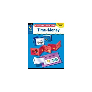 Creative Teaching Press Build-A-Skill Instant Books: Time And Money (Grades 2-3) Workbook, Grade 2 - Grade 3 [eBook]