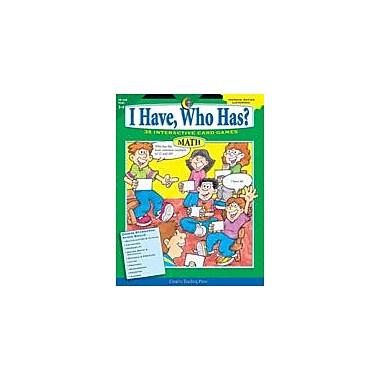 Creative Teaching Press I Have, Who Has? Math: Grades 5-6 Workbook By Callella, Trisha, Grade 5 - Grade 6 [eBook]