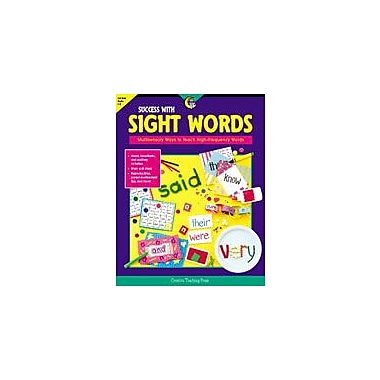 Creative Teaching Press Success With Sight Words Workbook By Thorp, Sara, Grade 1 - Grade 3 [eBook]