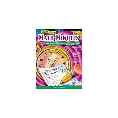Creative Teaching Press Fourth Grade Math Minutes Workbook By Hults, Alaska, Grade 4 [eBook]