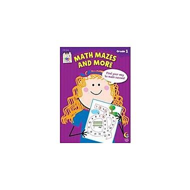 Creative Teaching Press Math Mazes And More Stick Kids Workbook: Grade 1 Workbook By Domnauer, Teresa, Grade 1 [eBook]