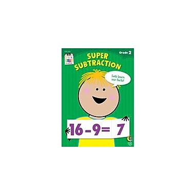 Creative Teaching Press Super Subtraction Stick Kids Workbook: Grade 2 Workbook By Sweet, Janet, Grade 2 [eBook]