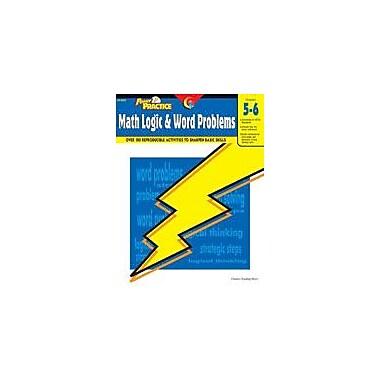 Creative Teaching Press Power Practice: Math Logic And Word Problems (Grades 5-6) Workbook [eBook]