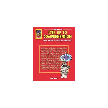 Didax Educational Resources Step Up To Comprehension (Grades 6-8) Workbook By Nitert, Chris, Grade 6 - Grade 8 [eBook]