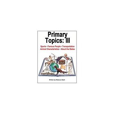 Educational Books 'N' Bingo Primary Topics 3: Create-A-Center Workbook By Stark, Rebecca, Grade 1 - Grade 4 [eBook]