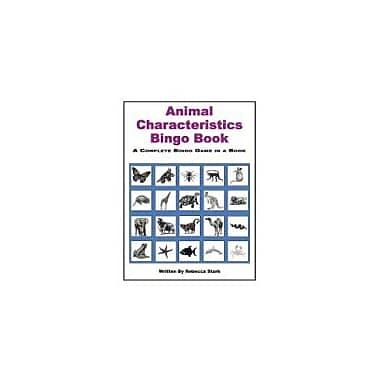 Educational Books 'N' Bingo Animal Characteristics Bingo Book Workbook By Stark, Rebecca, Grade 3 - Grade 6 [eBook]