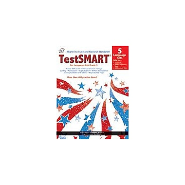 ECS Learning Systems Testsmart Student Practice Book, Language Arts, Grade 5 Workbook [eBook]
