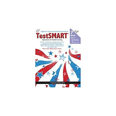 ECS Learning Systems Testsmart Student Practice Book, Math Operations And Problem Solving, Grade 7 Workbook [eBook]