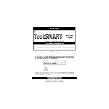 ECS Learning Systems Testsmart Practice Test, Reading, Grade 5 (Level E) Workbook, Grade 5 [eBook]