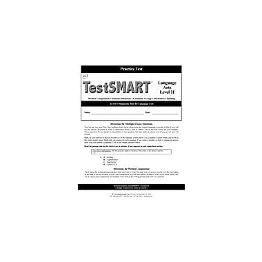 ECS Learning Systems Testsmart Practice Test, Language Arts, Grade 8 (Level H) Workbook, Grade 8 [eBook]