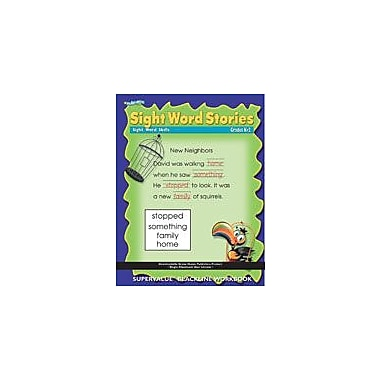 ECS Learning Systems Sight Word Stories Workbook, Kindergarten - Grade 2 [eBook]