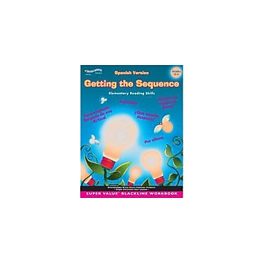 ECS Learning Systems Getting The Sequence: Spanish Version (Grades 4-5) Workbook, Grade 4 - Grade 5 [eBook]