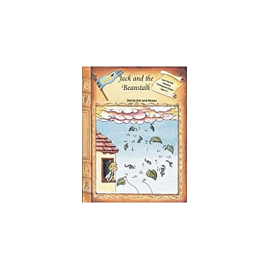 Edcon Publishing Group Jack And The Beanstalk - Dot To Dot And Mazes Workbook, Preschool - Grade 5 [eBook]