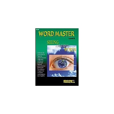 Edcon Publishing Group Word Master: Seeing And Using Words (Level 8) Workbook, Grade 8 - Grade 12 [eBook]
