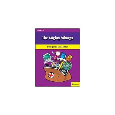 Lorenz Educational Press The Mighty Vikings Workbook By Krueger, Bonnie J; Myers, Emily, Grade 1 - Grade 2 [eBook]