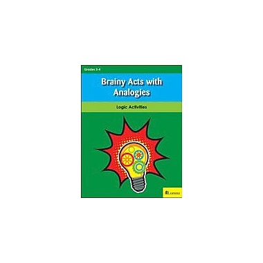 Lorenz Educational Press Brainy Acts With Analogies Workbook By Inskeep, Sara; Krueger, Bonnie J, Grade 3 - Grade 4 [eBook]