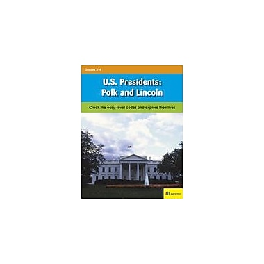 Lorenz Educational Press U.S. Presidents: Polk And Lincoln Workbook, Grade 3 - Grade 4 [eBook]