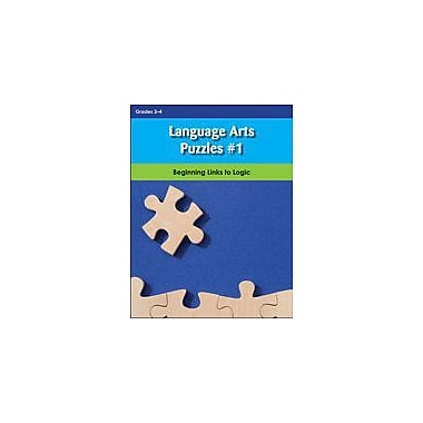Lorenz Educational Press Language Arts Puzzles #1 Workbook By Rosengarten, Tiffany; Gross, Jonathan, Grade 2 - Grade 4 [eBook]