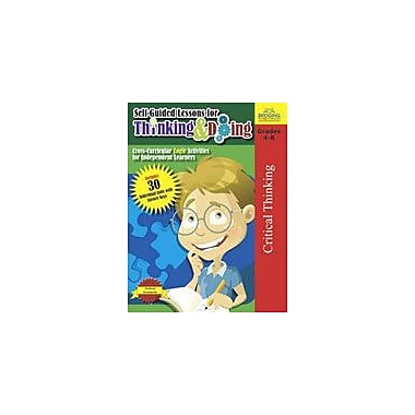 Lorenz Educational Press Self-Guided Lessons For Thinking And Doing Workbook By Myers, R.E., Grade 4 - Grade 8 [eBook]