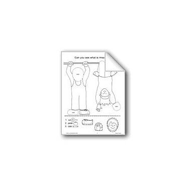 Evan-Moor Educational Publishers Can You See What Is Missing? Workbook, Preschool - Grade 1 [eBook]