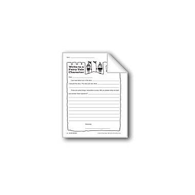 Evan-Moor Educational Publishers Creative Writing-Letter Writing: Fairy Tale Character Workbook, Grade 2 - Grade 4 [eBook]