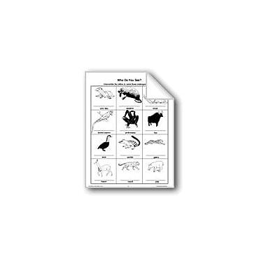 Evan-Moor Educational Publishers Who Do You See? Workbook, Grade 3 - Grade 6 [eBook]