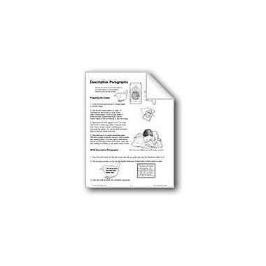 Evan-Moor Educational Publishers Descriptive Paragraphs Workbook, Grade 1 - Grade 3 [eBook]